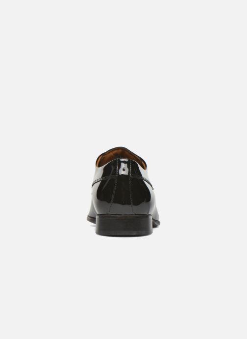 Zapatos con cordones Marvin&Co Notton Negro vista lateral derecha