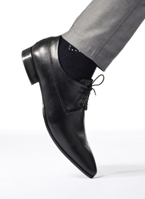 Lace-up shoes Marvin&co Notton Black view from underneath / model view