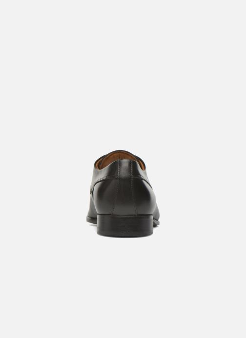 Schnürschuhe Marvin&Co Notton schwarz ansicht von rechts