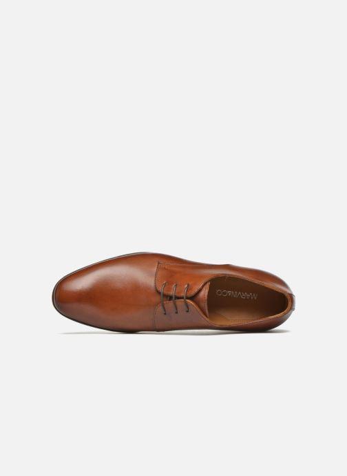Zapatos con cordones Marvin&Co Nailsworth Marrón vista lateral izquierda