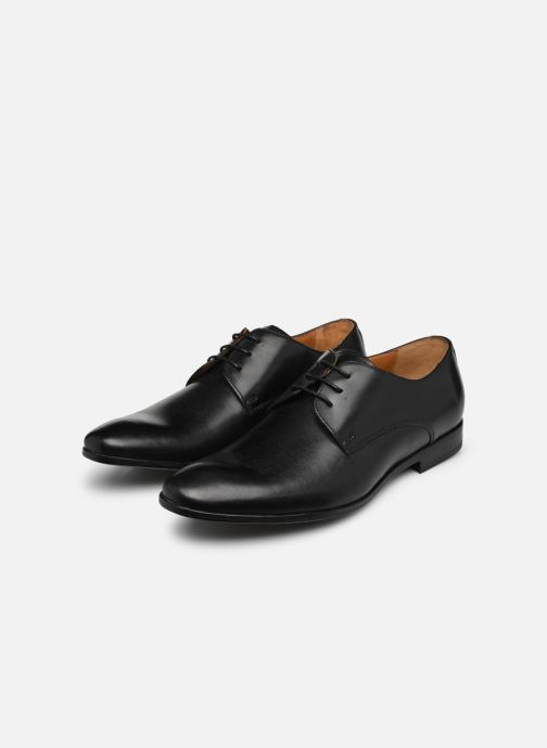 Lace-up shoes Marvin&co Nailsworth Black view from underneath / model view