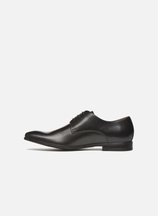 Lace-up shoes Marvin&co Nailsworth Black front view