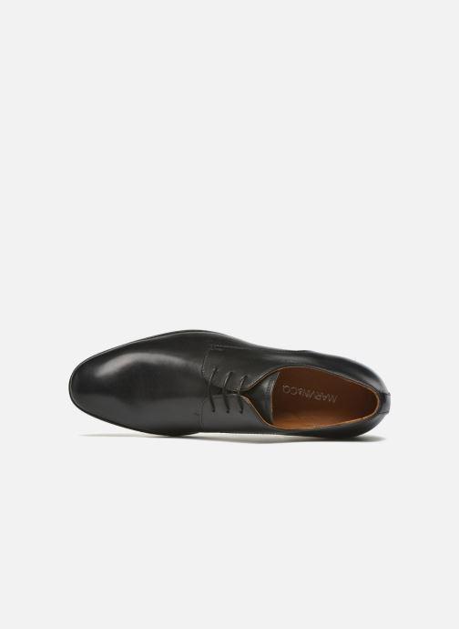 Zapatos con cordones Marvin&Co Nailsworth Negro vista lateral izquierda