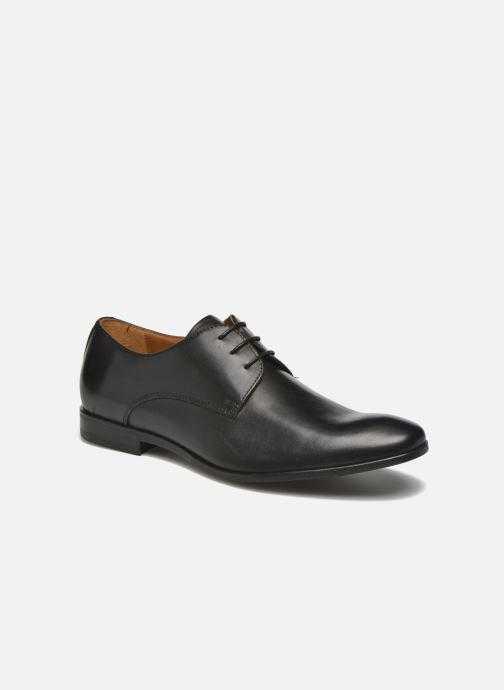 Lace-up shoes Marvin&co Nailsworth Black detailed view/ Pair view