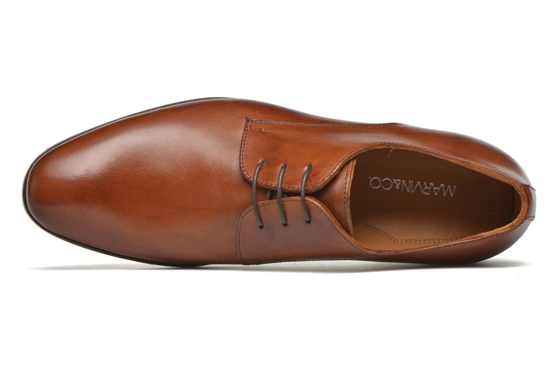 Chaussures à lacets Marvin&Co Nailsworth Marron vue gauche