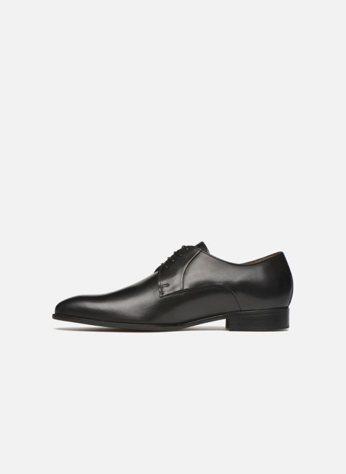 Zapatos con cordones Marvin&Co Needham Negro vista de frente
