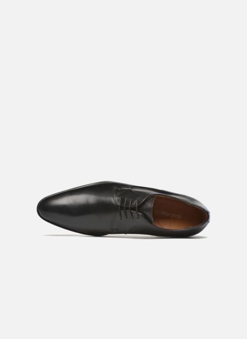 Zapatos con cordones Marvin&Co Needham Negro vista lateral izquierda