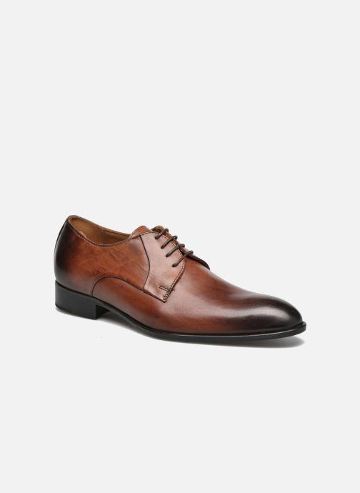 Snøresko Marvin&Co Needham Brun detaljeret billede af skoene
