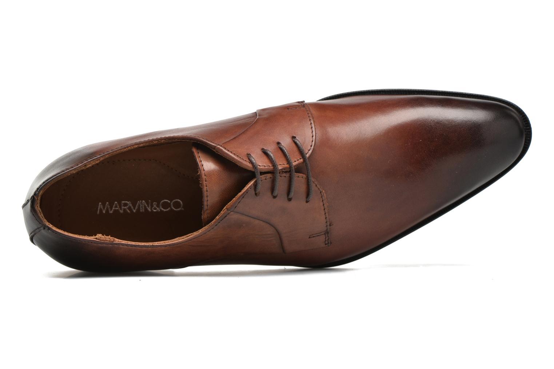 Scarpe con lacci Marvin&Co Needham Marrone immagine sinistra