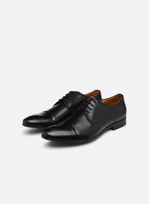 Lace-up shoes Marvin&co Newhaven Black view from underneath / model view