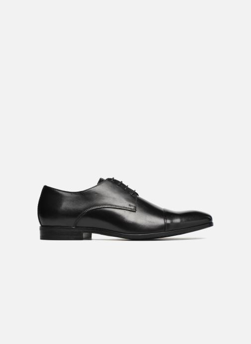 Zapatos con cordones Marvin&Co Newhaven Negro vistra trasera