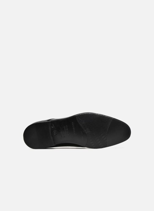 Lace-up shoes Marvin&co Newhaven Black view from above