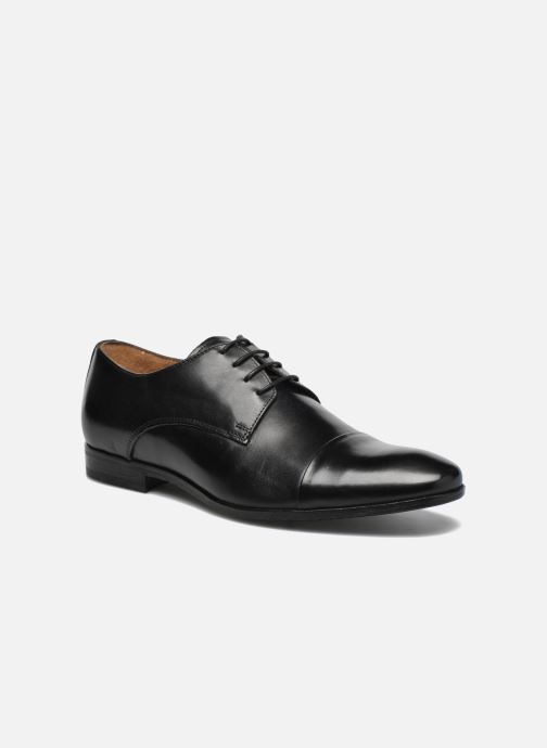 Lace-up shoes Marvin&co Newhaven Black detailed view/ Pair view