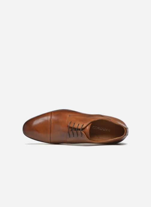 Lace-up shoes Marvin&co Newhaven Brown view from the left