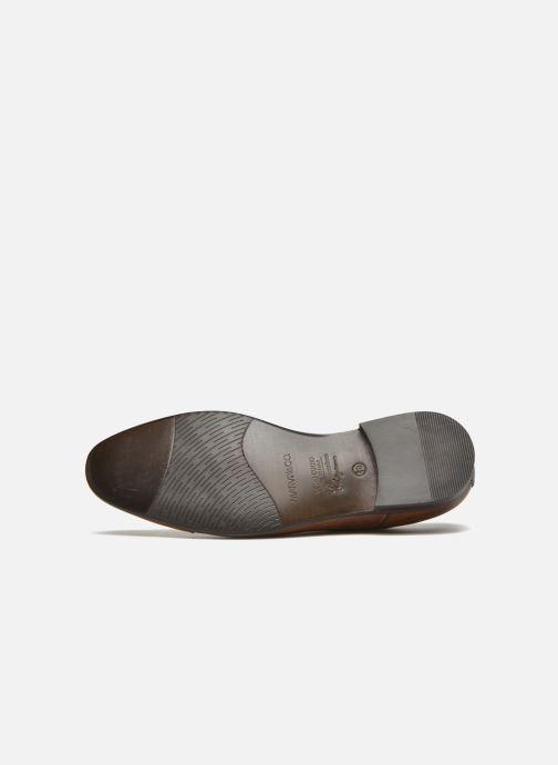 Chaussures à lacets Marvin&Co Newhaven Marron vue haut