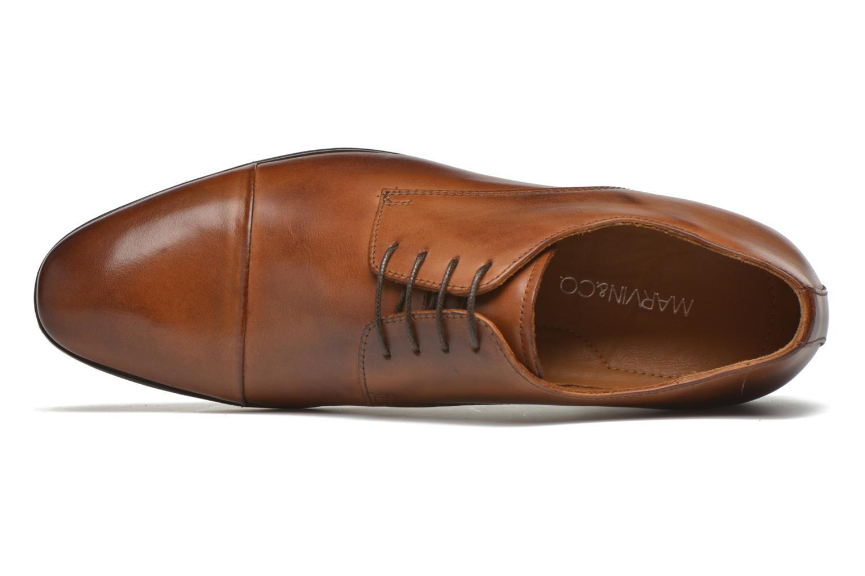 Scarpe con lacci Marvin&Co Newhaven Marrone immagine sinistra