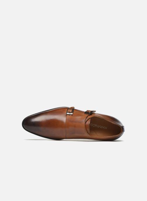 Zapato con hebilla Marvin&Co Newmills Marrón vista lateral izquierda
