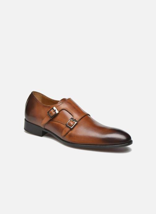 Chaussure à boucle Marvin&Co Newmills Marron vue détail/paire