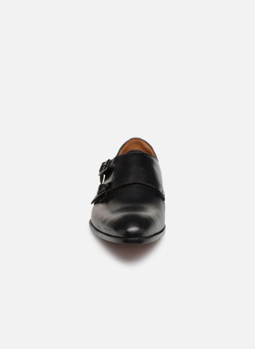 Mocasines Marvin&Co Newmills Negro vista del modelo