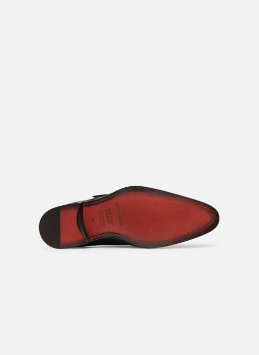 Mocassins Marvin&Co Newmills Noir vue haut