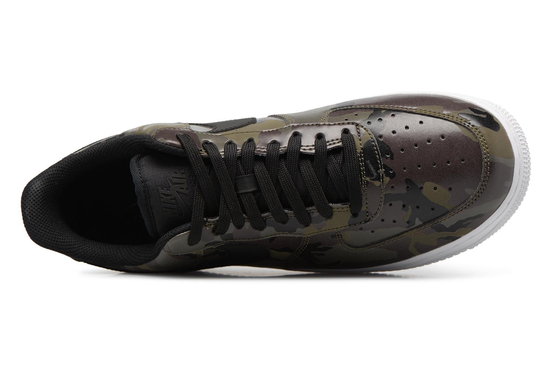 Baskets Nike Air Force 1 '07 Lv8 Vert vue gauche