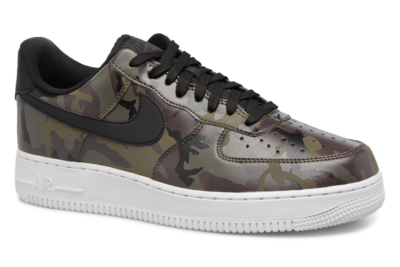 Baskets Nike Air Force 1 '07 Lv8 Vert vue détail/paire