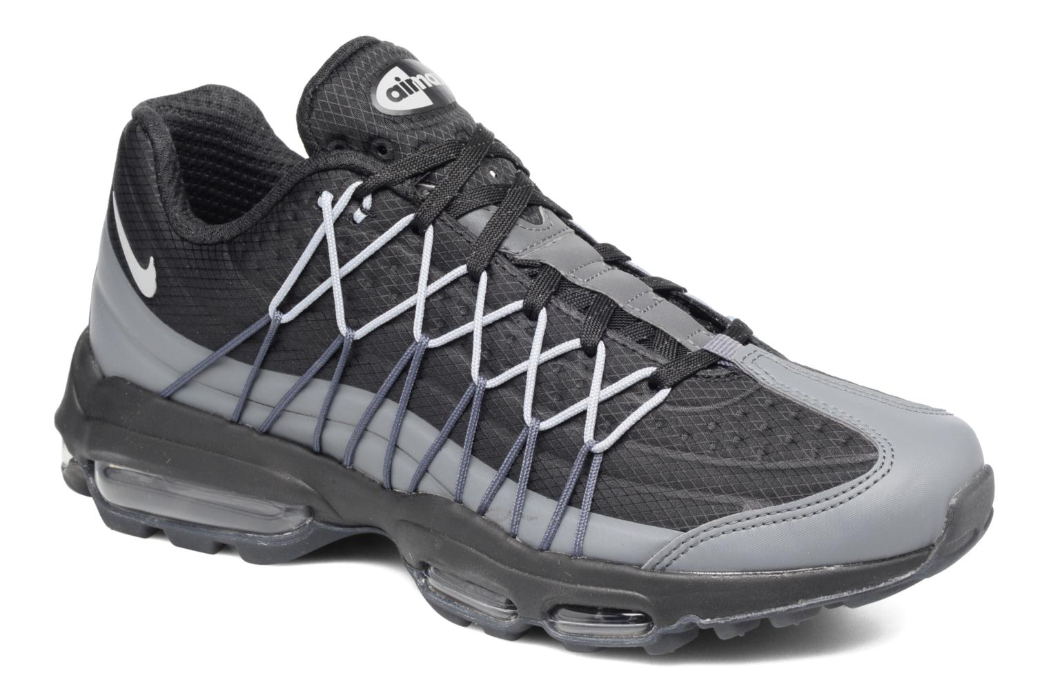 check out 91cf2 76f3b france trainers nike nike air max 95 ultra se grey detailed view pair view  08c53 4c3d2
