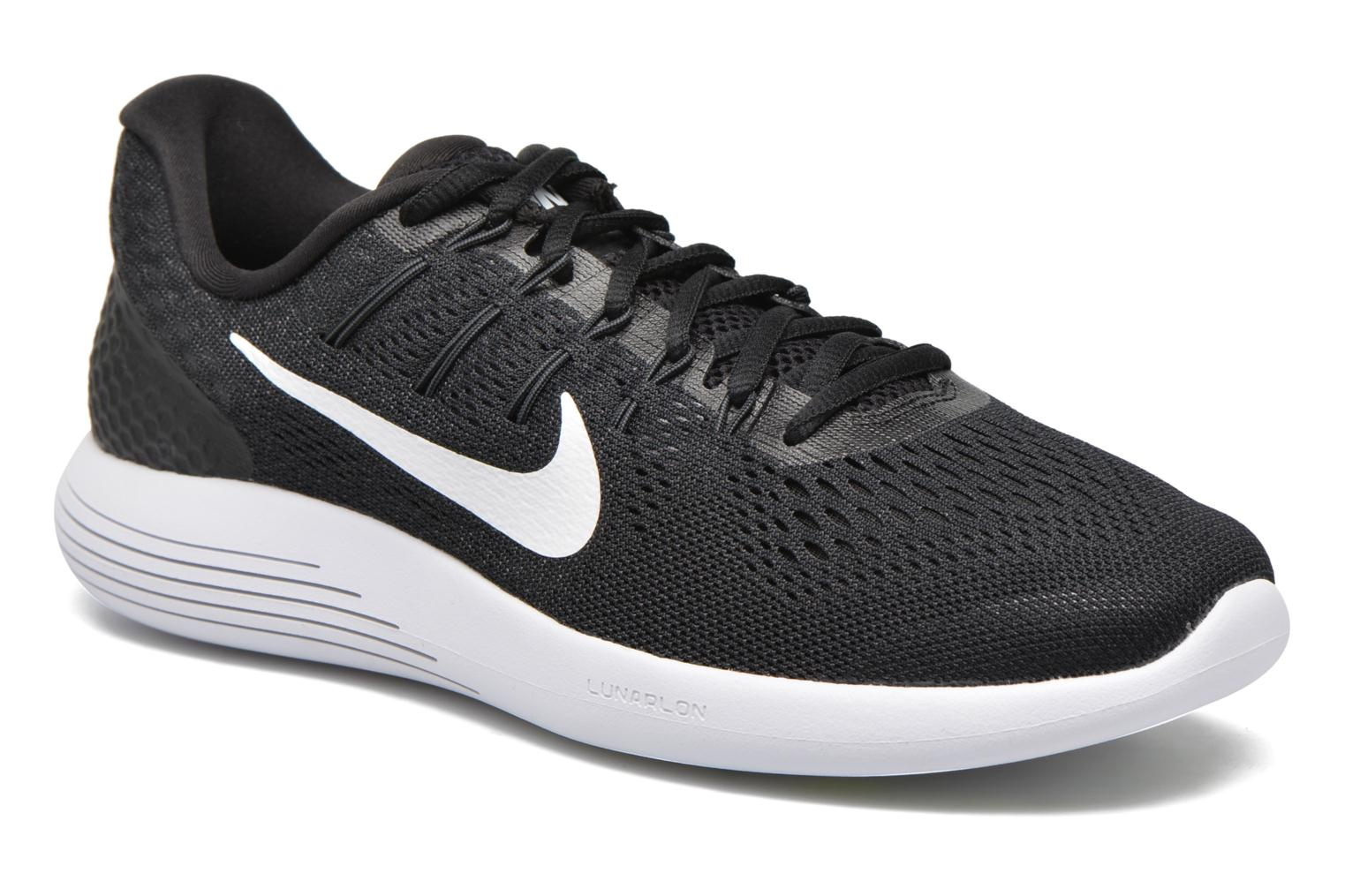 promo code aa114 21817 france sport shoes nike nike lunarglide 8 black detailed view pair view  349d1 fb188