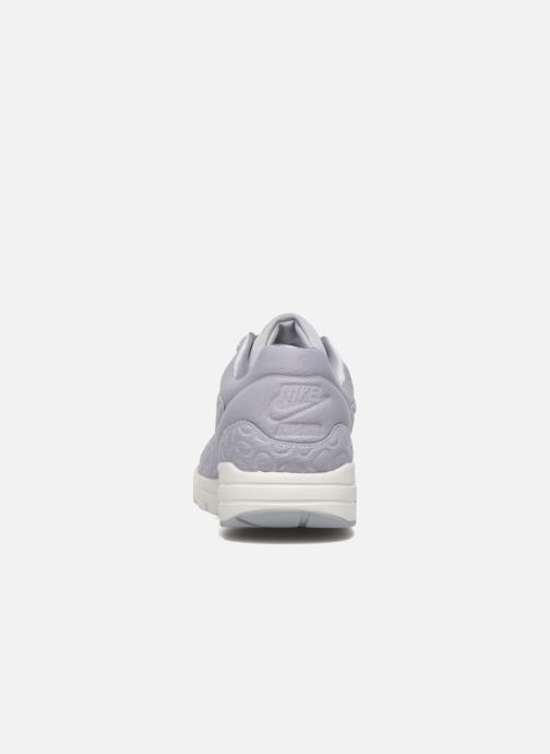 Trainers Nike Nike W Air Max 1 Ultra Plush Grey view from the right