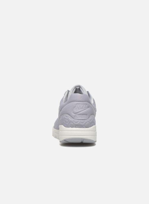 Deportivas Nike Nike W Air Max 1 Ultra Plush Gris vista lateral derecha
