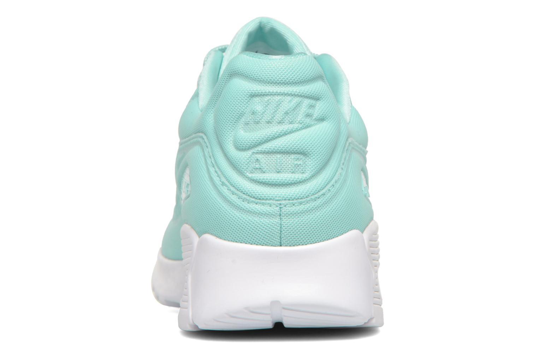 Sneaker Nike W Air Max 90 Ultra Plush blau ansicht von rechts