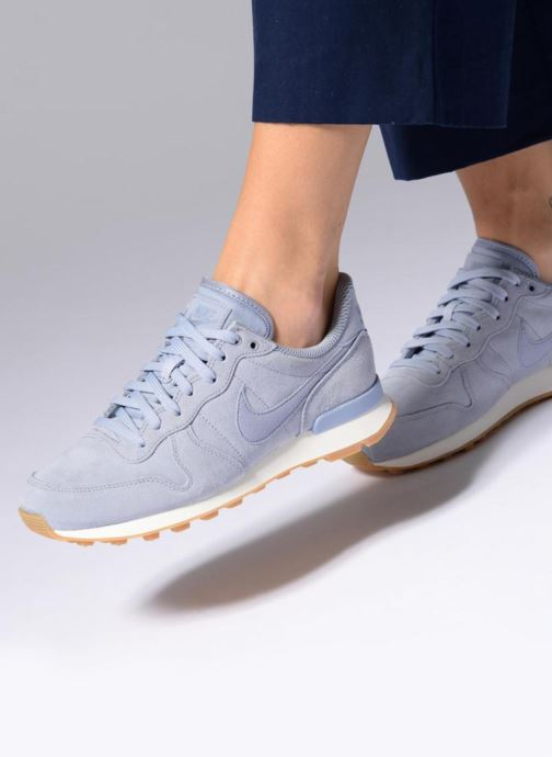 Trainers Nike W Internationalist Se Blue view from underneath / model view