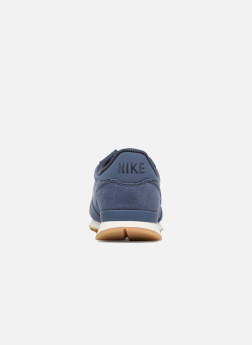 nike internationalist w schoenen beige blauw