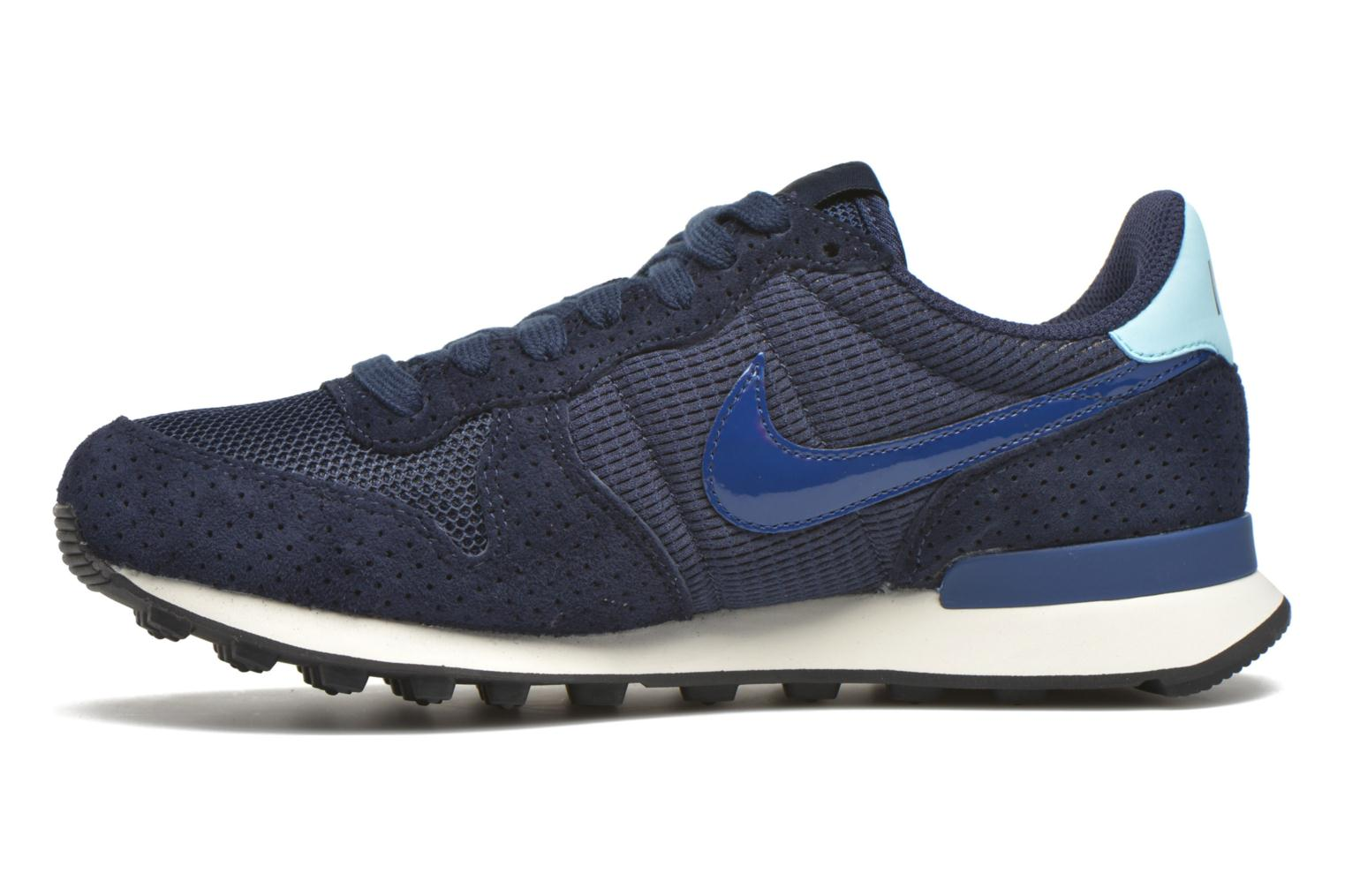 Baskets Nike W Internationalist Se Bleu vue face