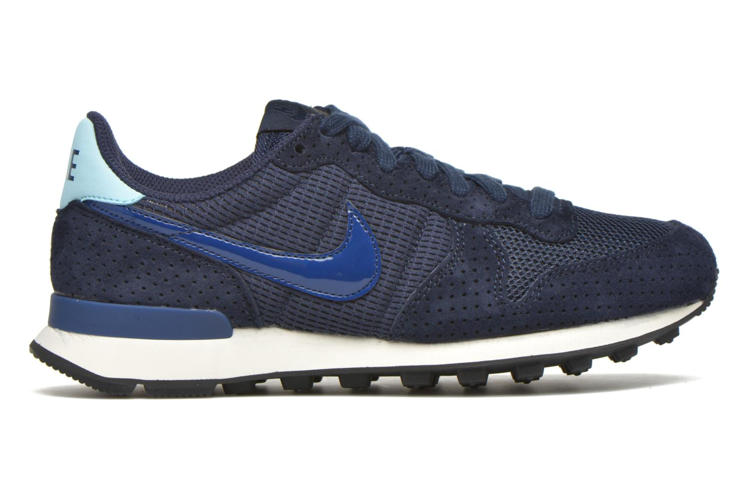 Baskets Nike W Internationalist Se Bleu vue derrière