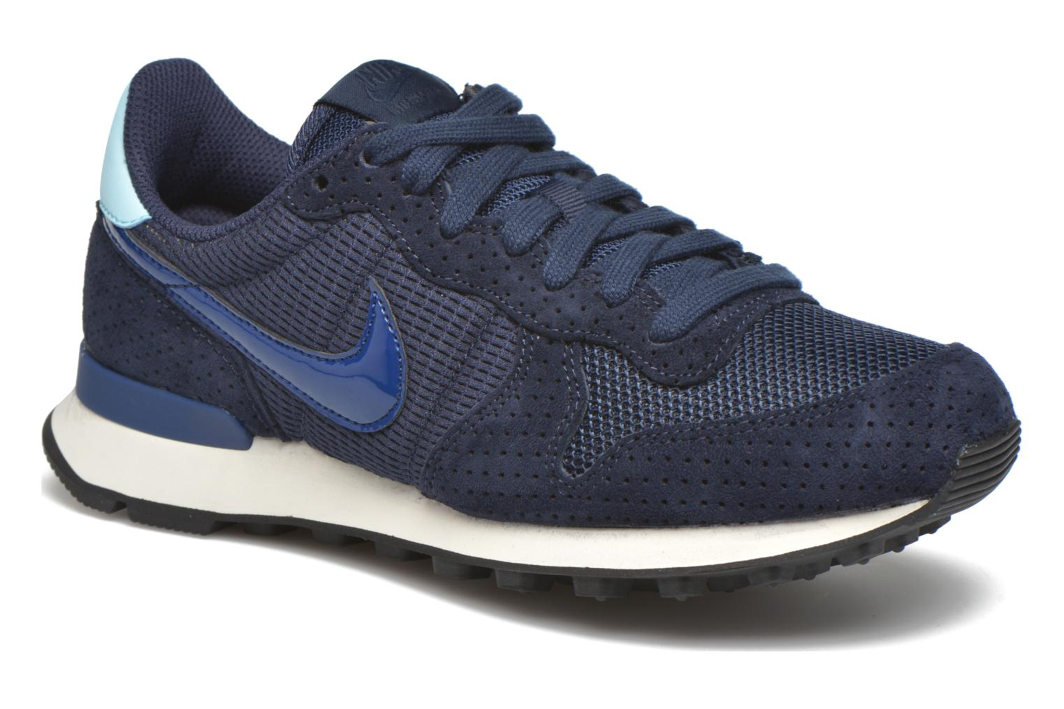 Baskets Nike W Internationalist Se Bleu vue détail/paire