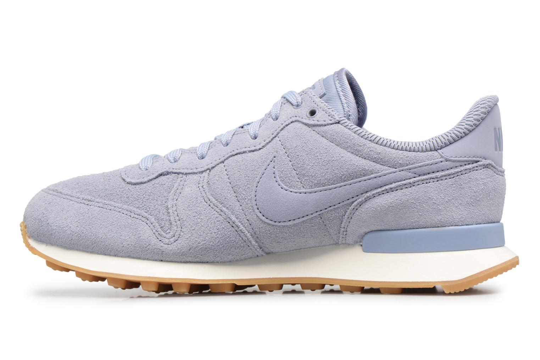 Sneakers Nike W Internationalist Se Azzurro immagine frontale