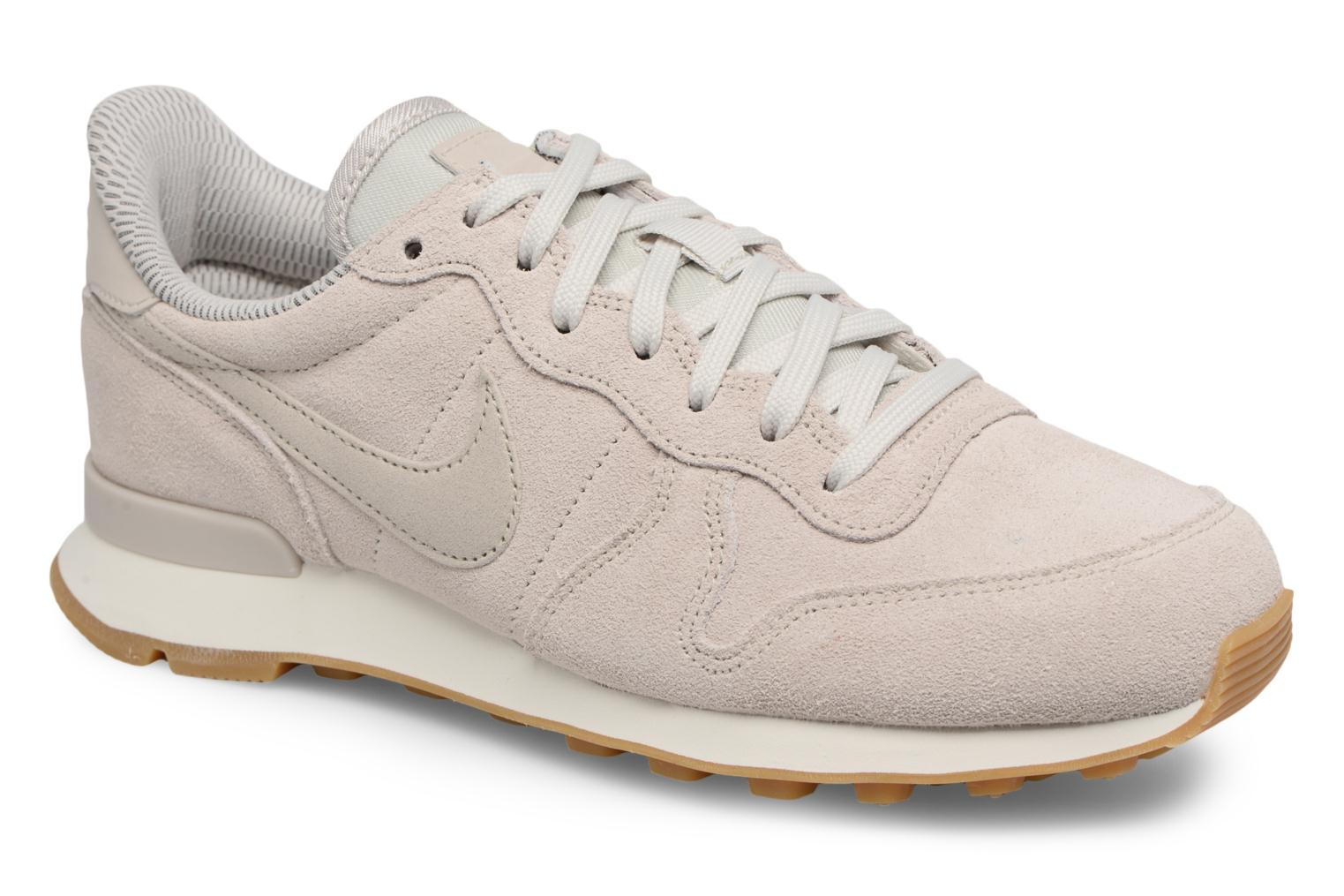Baskets Nike W Internationalist Se Gris vue détail/paire