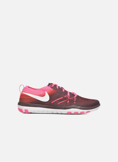 Chaussures de sport Nike W Nike Free Tr Focus Flyknit Bordeaux vue derrière