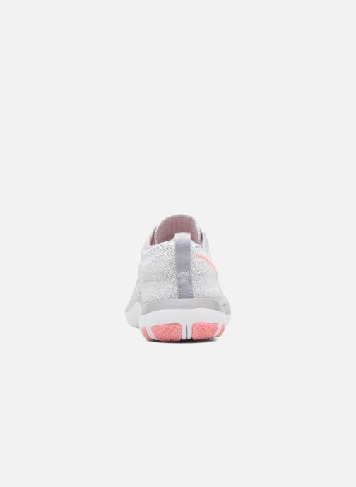 Zapatillas de deporte Nike W Nike Free Tr Focus Flyknit Gris vista lateral derecha