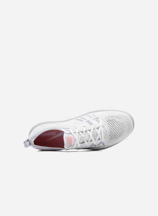Zapatillas de deporte Nike W Nike Free Tr Focus Flyknit Gris vista lateral izquierda