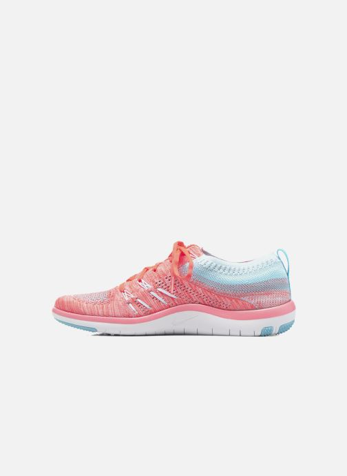 Chaussures de sport Nike W Nike Free Tr Focus Flyknit Orange vue face