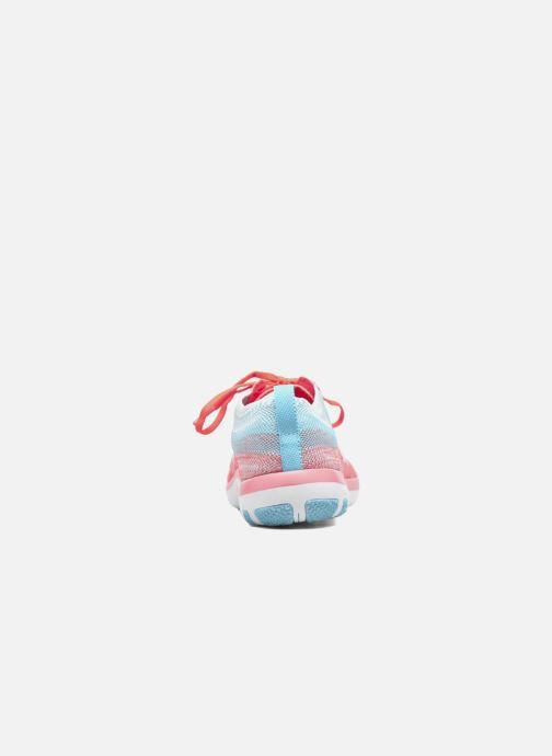 Scarpe sportive Nike W Nike Free Tr Focus Flyknit Arancione immagine destra
