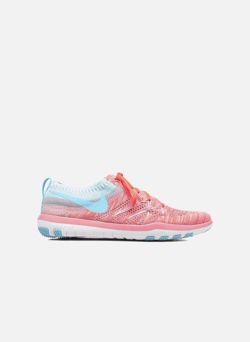 Chaussures de sport Nike W Nike Free Tr Focus Flyknit Orange vue derrière