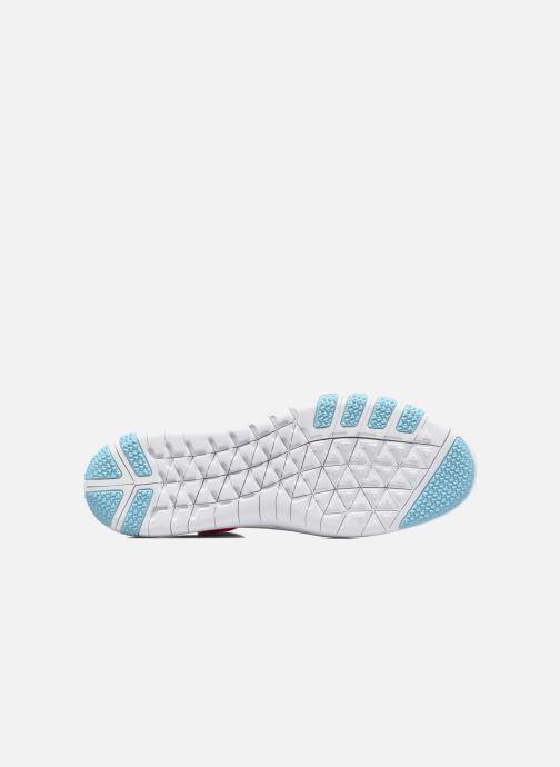 Chaussures de sport Nike W Nike Free Tr Focus Flyknit Orange vue haut