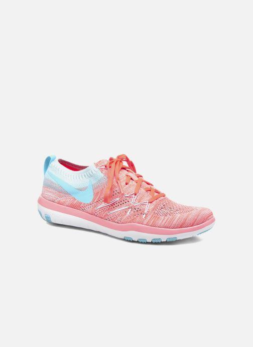 Chaussures de sport Nike W Nike Free Tr Focus Flyknit Orange vue détail/paire