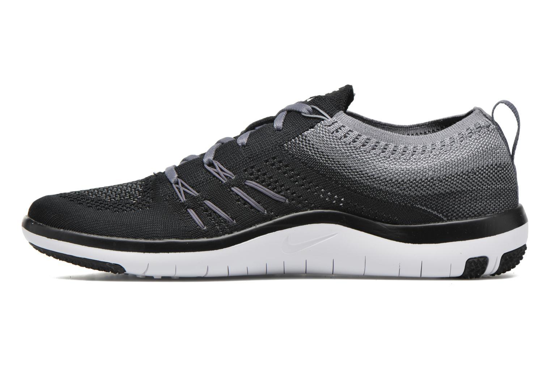 Chaussures de sport Nike W Nike Free Tr Focus Flyknit Noir vue face
