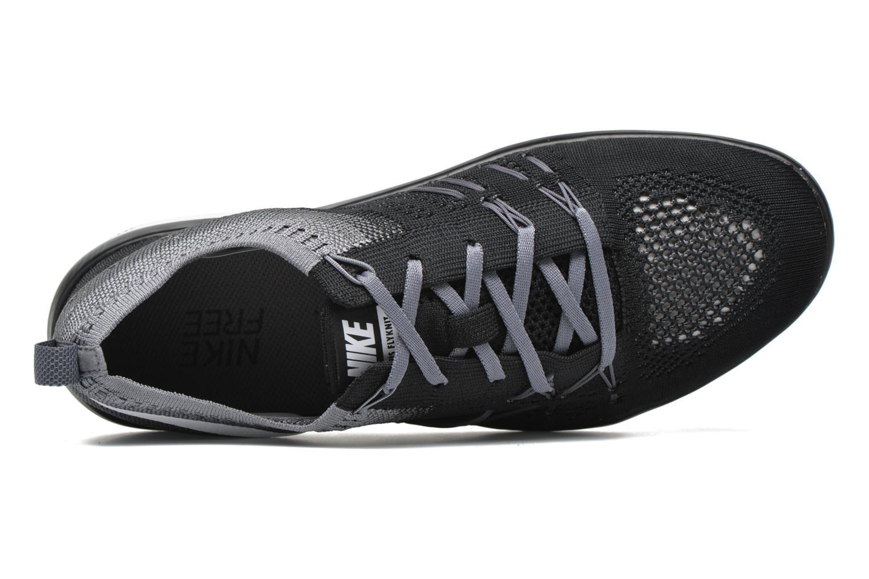 Chaussures de sport Nike W Nike Free Tr Focus Flyknit Noir vue gauche