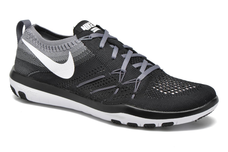 Chaussures de sport Nike W Nike Free Tr Focus Flyknit Noir vue détail/paire