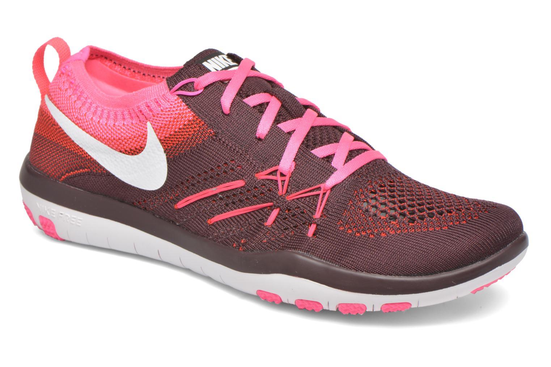 Nike W Nike Free Tr Focus Flyknit (Bordeaux) - Chaussures de sport chez Sarenza (266813)